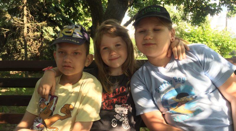 Krzyś (po lewej) fot. archiwum rodzinne