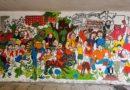 Poznań: Mural dla Klimatu nabiera kształtów i kolorów
