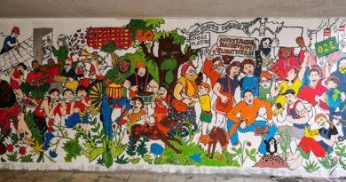 mural Czecha-Lecha fot. S. Wąchała