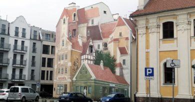 mural na Śródce