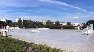 nowy skatepark fot. jacek tomaszewski rop4 300x169 - Poznań: Budowa skateparku w parku Śmiałego-Batorego na Piątkowie zakończona!