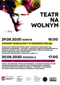 """plakat virtuoso fot. teatr muzyczny2 212x300 - Poznań: """"Virtuoso"""" i przeboje musicali od Teatru Muzycznego"""