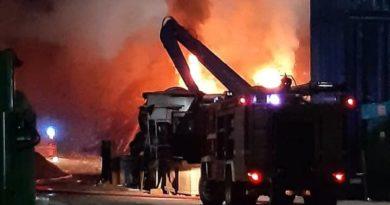 pożar fot OSP KSRG Kościan