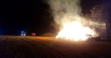 pożar fot. OSP Buk