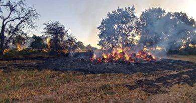 pożar, zdjęcie ilustracyjne fot. OSP Buk