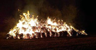 pożar archiwum fot. OSP Buk