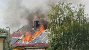 Sulęcinek: Pożar domu jednorodzinnego