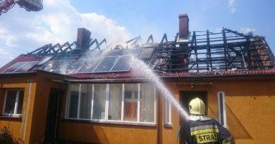 pożar fot. OSP Sulęcin