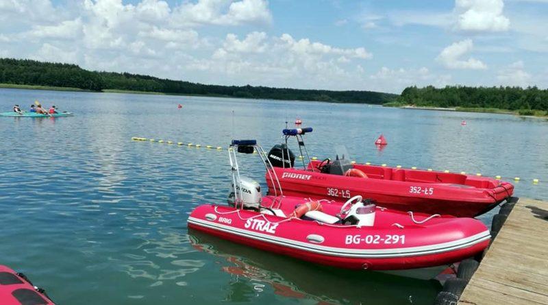ratowanie w wodzie, archiwum fot. OSP Kleczew