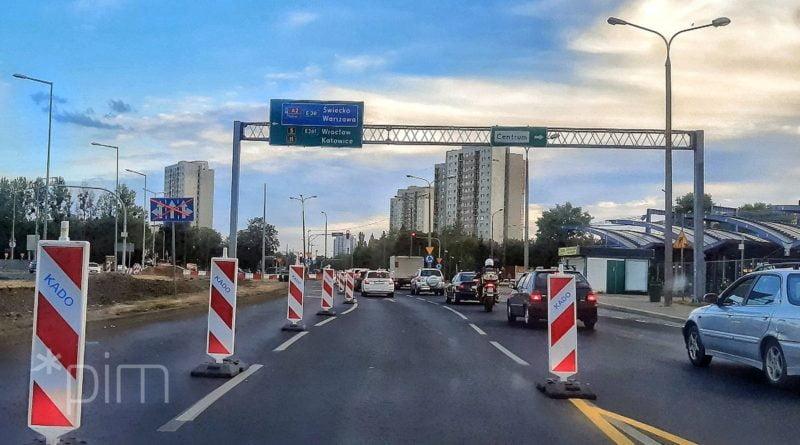Poznań: Przebudowa ronda Rataje – w nocy kolejne zmiany organizacji ruchu