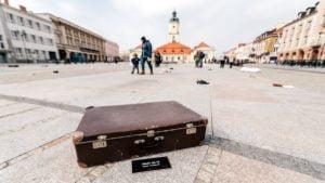 rzeczyviste fot. wmn 300x169 - Poznań: Walizki zesłanych na Sybir na placu Wolności