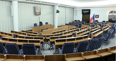 Sala Senatu RP fot. Senat