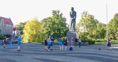 Solidarni z Białorusią Forum Młodych PiS fot. S. Wąchała