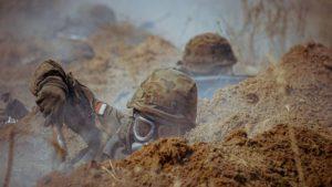 sprawdzian w wyciazkowie fot. dwot2 300x169 - Leszno: Terytorialsi - ostatni sprawdzian przed przysięgą
