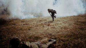 sprawdzian w wyciazkowie fot. dwot5 300x169 - Leszno: Terytorialsi - ostatni sprawdzian przed przysięgą