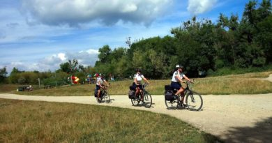 strażnicy na rowerach fot. SMMP