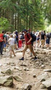 szlak do kamienczyka fot. g. ciepla2 169x300 - Sudety: Tłumy na trasie na Kamieńczyk!
