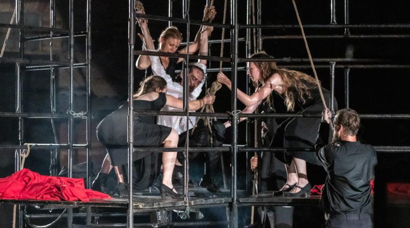 Teatr A Part- Faust - Festiwal na Wolnym Powietrzu fot. Sławek Wąchała