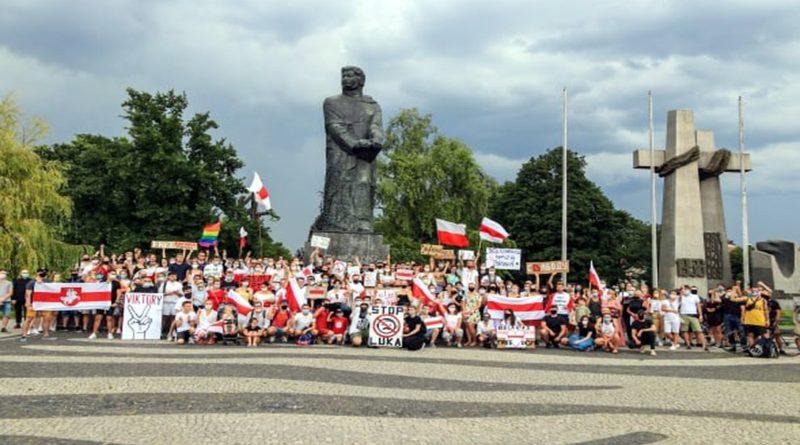 wolnosc dla bialorusi fot. s.wachala9 800x445 - Poznań: UAM wspiera Białoruś