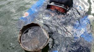 wykopaliska lednica fot. m. popek umk w toruniu5 300x169 - Gniezno: Skarby znalezione w jeziorze Lednickim
