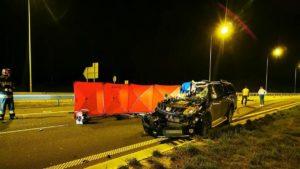 wypadek fot. osp ksrg smigie4 300x169 - Leszno: Tragiczny wypadek na S5 pod Śmiglem