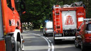 wypadek jarocin fot. policja 300x169 - Jarocin: Tragiczny wypadek - dwie osoby zginęły