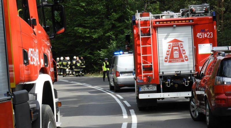 wypadek jarocin fot. policja 800x445 - Jarocin: Dwa samochody zderzyły się na drodze Radlin - Wilkowyja. Są utrudnienia w ruchu!