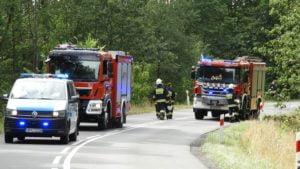 wypadek jarocin fot. policja4 300x169 - Jarocin: Tragiczny wypadek - dwie osoby zginęły