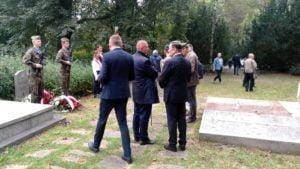 81. rocznica wybuchu ii wojny swiatowej3 300x169 - Poznań: Kwiaty na Cytadeli z okazji rocznicy wybuchu II wojny światowej