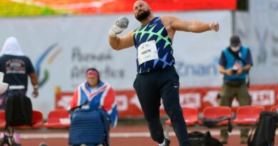 Athletics Grand Prix Michał Haratyk fot. UMP