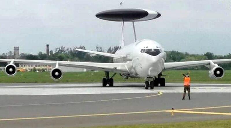 AWACS Ławica fot. PL Ławica