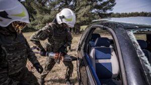cwiczenia terytorialsow fot dwot5 300x169 - Leszno: Terytorialsi wracają do intensywnego szkolenia