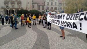 Poznań: Solidarni z uchodźcami z Morii