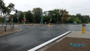 dmowskiego hetmanska fot. zdm2 300x169 - Poznań: Koniec przebudowy skrzyżowania Hetmańskiej i Dmowskiego