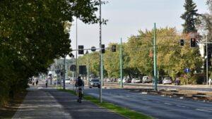 Poznań: Droga rowerowa wzdłuż ul. Grunwaldzkiej gotowa