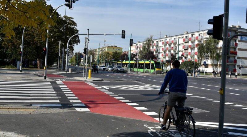 droga rowerowa grunwaldzka fot. ump2 800x445 - Poznań: Droga rowerowa wzdłuż Grunwaldzkiej nie jest bezpieczna - twierdzą osiedlowi radni