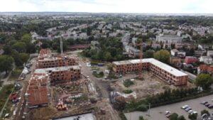 inwestycja przy opolskiej fot. zkzl4 300x169 - Poznań: Osiedle przy Opolskiej rośnie szybciej, niż zakładał plan