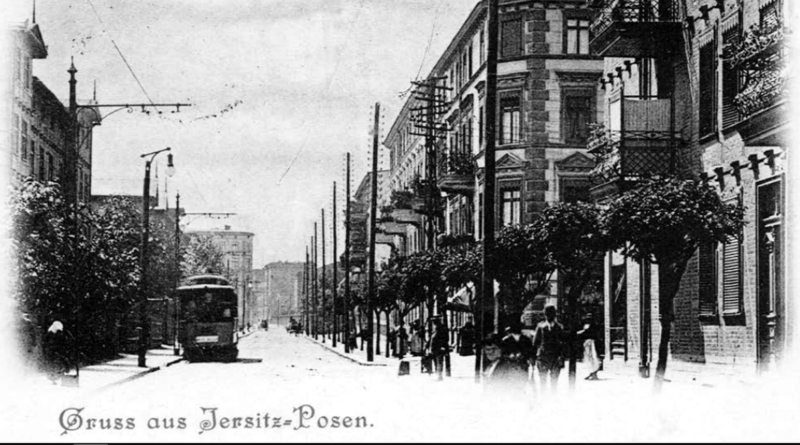 Jeżycka Galeria Witrynowa, obecnie - ulica Kraszewskiego, fot. ROJ