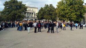 mlodziezowy strajk klimatyczny5 300x169 - Poznań: Młodzieżowy Strajk Klimatyczny na placu Wolności