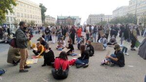 mlodziezowy strajk klimatyczny6 300x169 - Poznań: Młodzieżowy Strajk Klimatyczny na placu Wolności