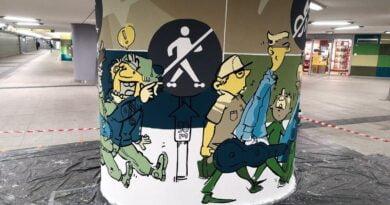mural Kaponiera fot. ZDM