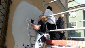Poznań: Powstaje nowy mural. Dzięki seniorom