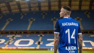 Nika Kacharava piłkarzem Lecha Poznań