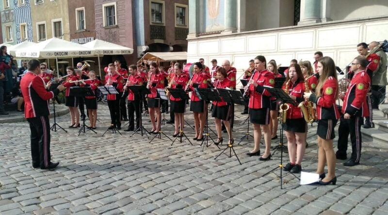 Orkiestra Dęta z Chludowa na Grandzie