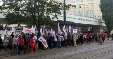 pikieta HCP fot. Solidarność