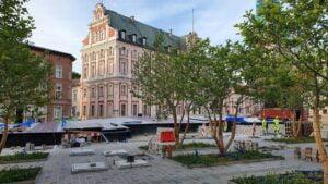 Poznań: Plac Kolegiacki gotowy za... kilka miesięcy?
