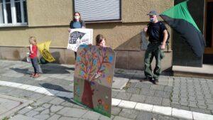 Poznań: Pikieta przeciwko wycince bieszczadzkich lasów