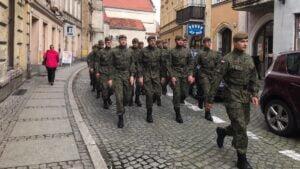 rajd na wschowe fot. dwot 300x169 - Leszno: Terytorialsi upamiętnili potyczkę pod Wschową