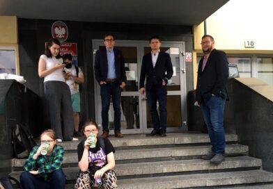 Poznań: Protest na Polnej – zatrzymanie działaczki partii Razem