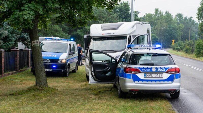 skradzione samochody fot. policja